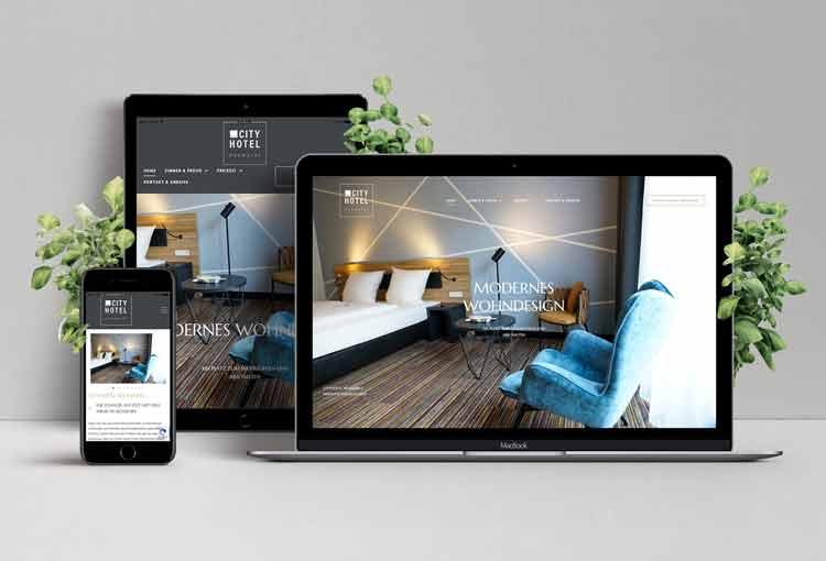 Hotel Webseite