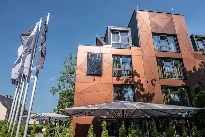 Hotel Online Buchung für das Innspire Hotel, München
