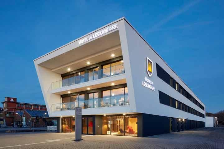 Zentrales Reservierungssystems für das Hotel im Leskanpark, Köln