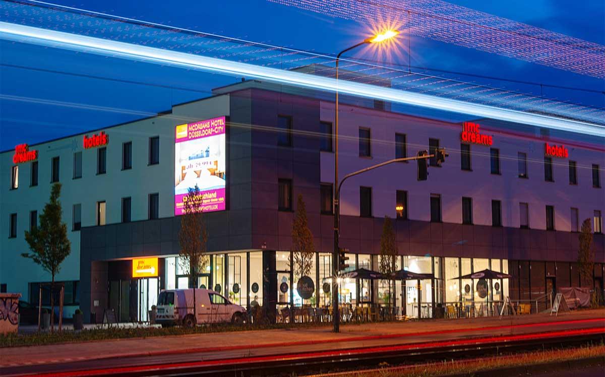 Webbasierte Multi-Property-Hotelsoftware für das McDreams Hotel Düsseldorf