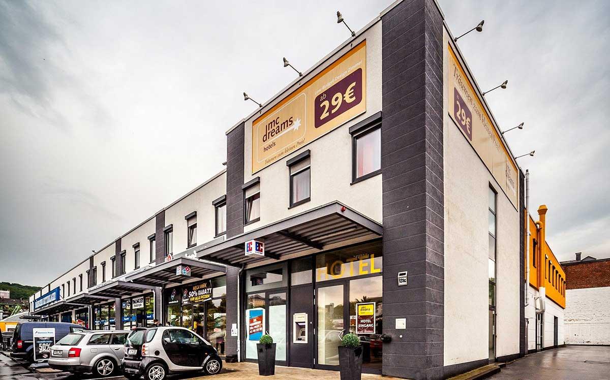 Webbasierte Multi-Property-Hotelsoftware für das McDreams Hotel Wuppertal